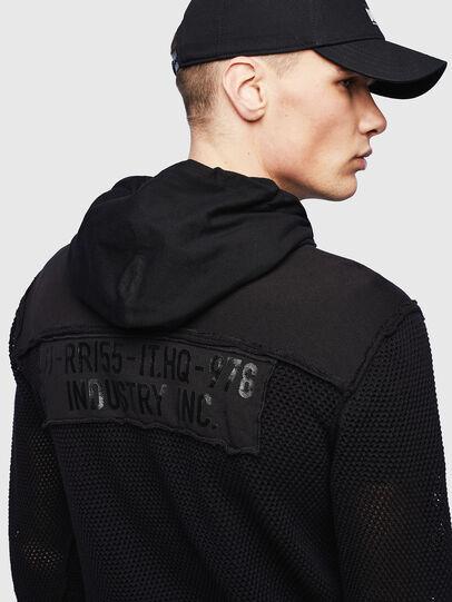 Diesel - K-CONNET, Black - Knitwear - Image 3