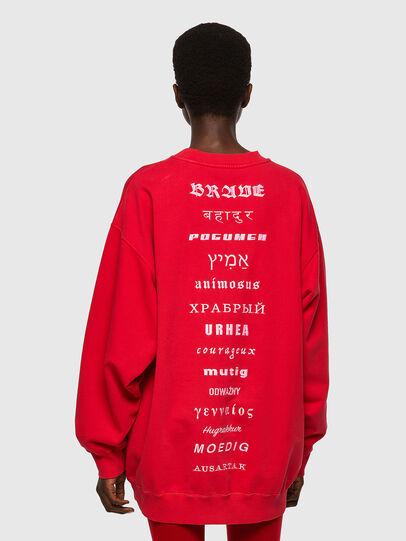 Diesel - F-EXA, Red - Sweaters - Image 2