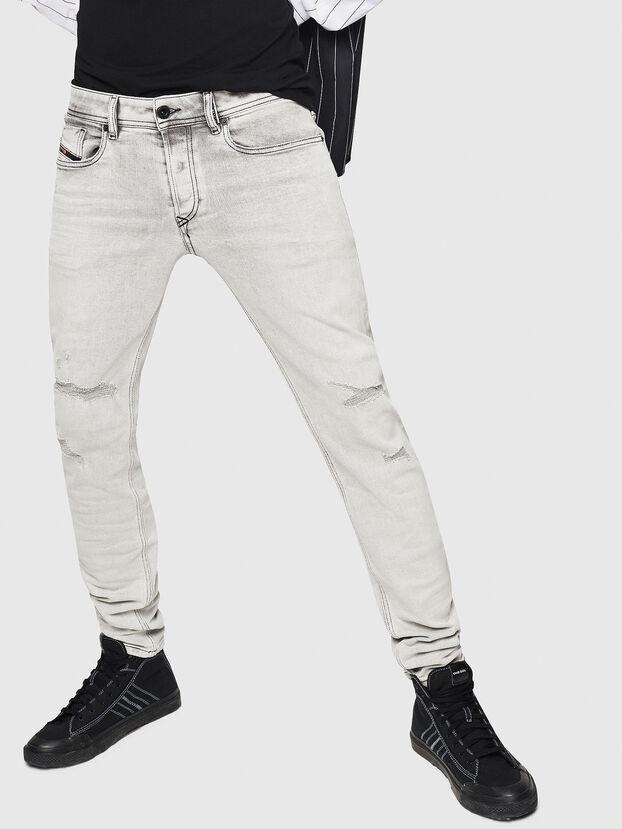 Sleenker 0090F, Light Grey - Jeans