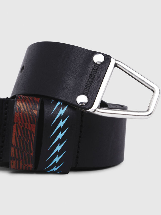 Diesel - B-ALBAREDO, Black - Belts - Image 2
