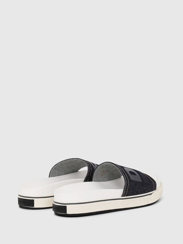 Diesel - SA-GRAND SLIDE W, White/Blue - Sandals - Image 3