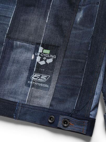 Diesel - D-OWNHILL55, Medium blue - Denim Jackets - Image 5