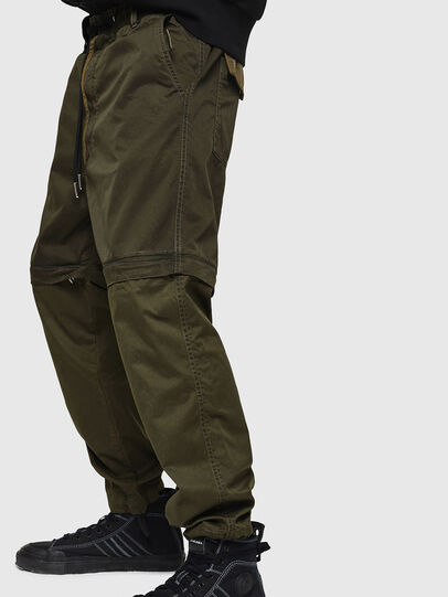 Diesel - P-CASHORT, Military Green - Pants - Image 3