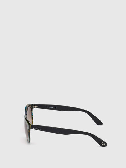 Diesel - DM0190, Blue/Black - Sunglasses - Image 3