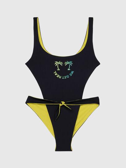 Diesel - BFSW-BOWSUIT-REV, Black/Yellow - Swimsuits - Image 5