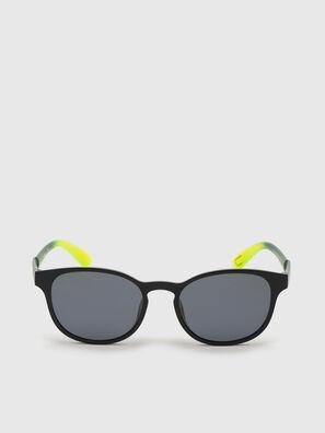 DL0328, Black/Yellow - Sunglasses