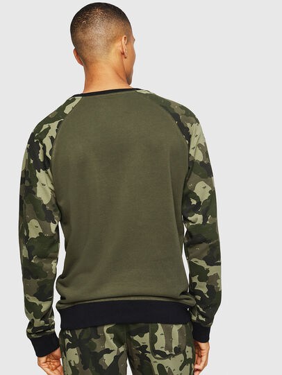 Diesel - UMLT-MAX, Green Camouflage - Sweaters - Image 2