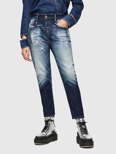 Diesel - Fayza 0092I, Dark Blue - Jeans - Image 1