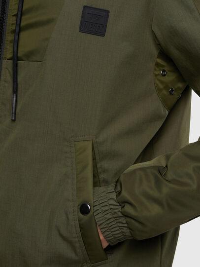 Diesel - J-CARSON-KA, Military Green - Jackets - Image 4