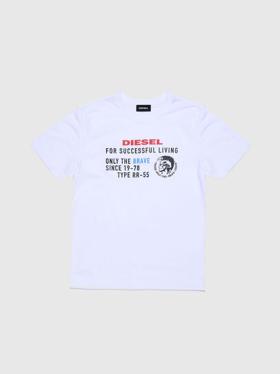 Diesel - TDIEGOXBJ, White - T-shirts and Tops - Image 1