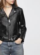 L-LYF, Black Leather - Leather jackets