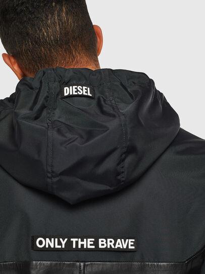 Diesel - L-CARRS, Black - Leather jackets - Image 3