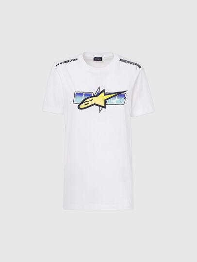 Diesel - ASTARS-T-DIEGOS-B-FL, White - T-Shirts - Image 4