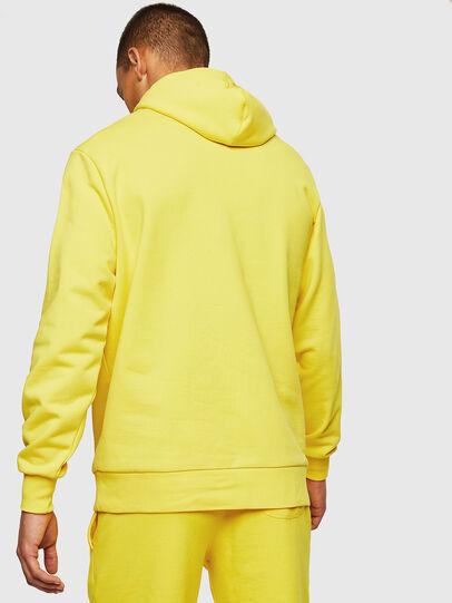 Diesel - S-GIR-HOOD, Yellow - Sweaters - Image 2