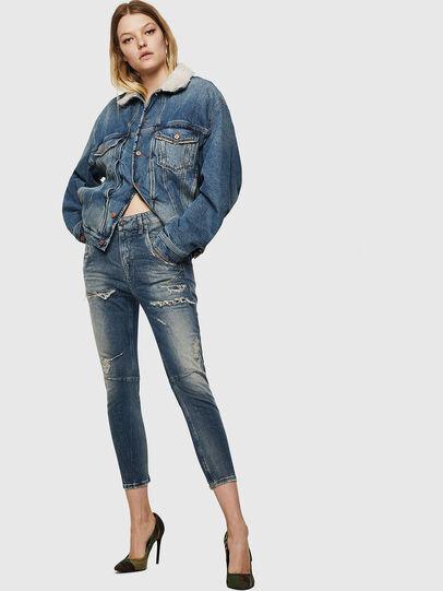 Diesel - Fayza JoggJeans 0890A, Light Blue - Jeans - Image 6