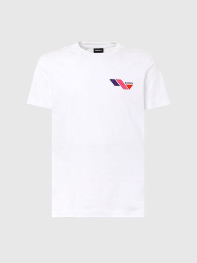 Diesel - T-DIEGOS-K11, White - T-Shirts - Image 4