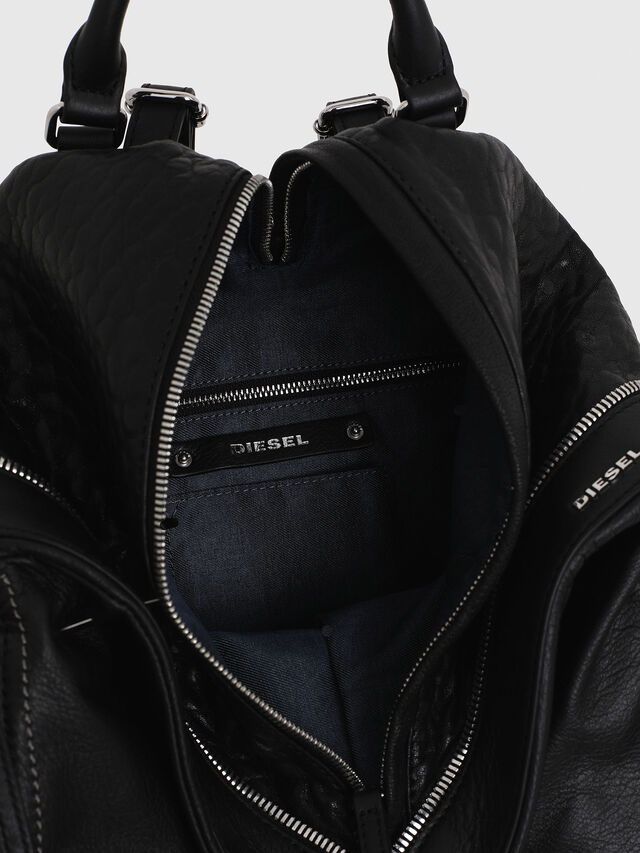 Diesel - LE-MHONIC, Black - Backpacks - Image 4