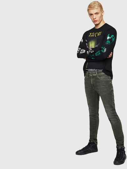 Diesel - Thommer 0890E, Green/Grey - Jeans - Image 4