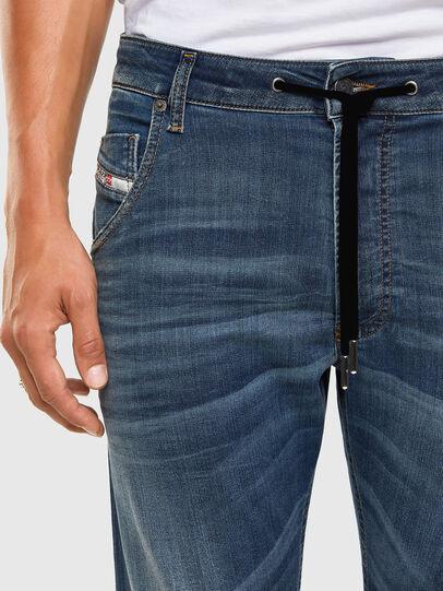 Diesel - Krooley JoggJeans 069NK, Medium blue - Jeans - Image 3