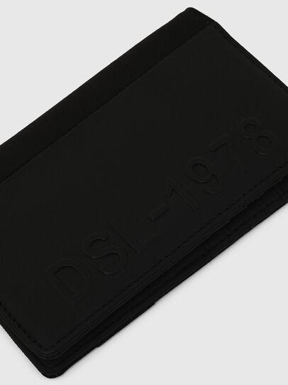 Diesel - ORGANIESEL, Black - Small Wallets - Image 4