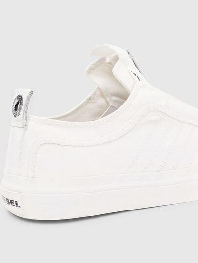 Diesel - S-ASTICO LOW ZIP SP, White - Sneakers - Image 6