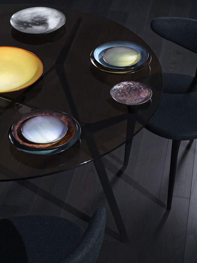 Living 10820 COSMIC DINER, Plum - Plates - Image 2