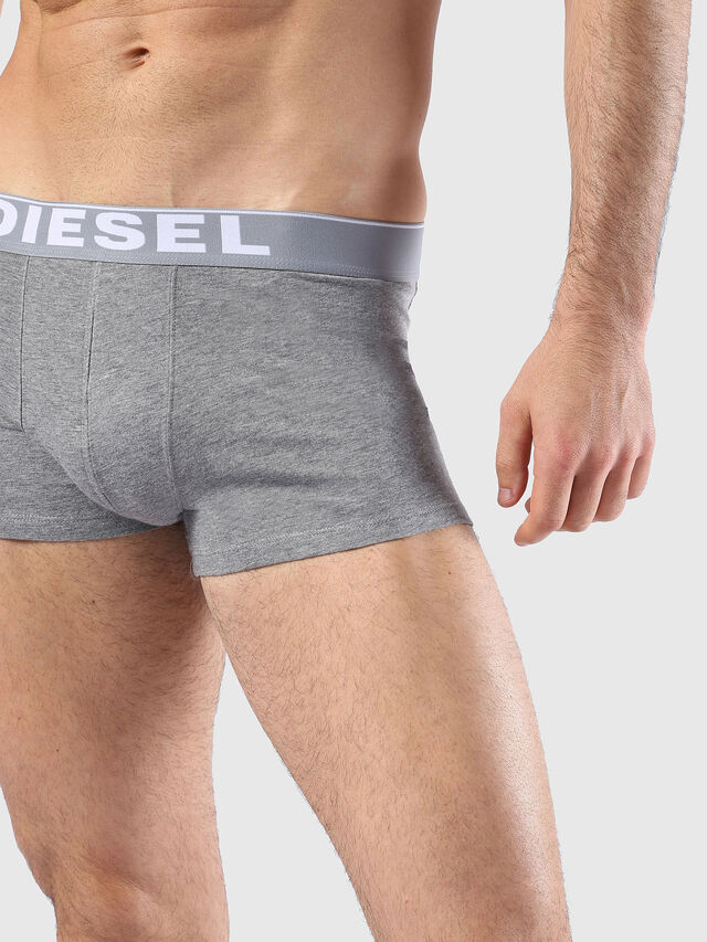 Diesel - UMBX-KORYTHREEPACK, White/Black - Trunks - Image 4