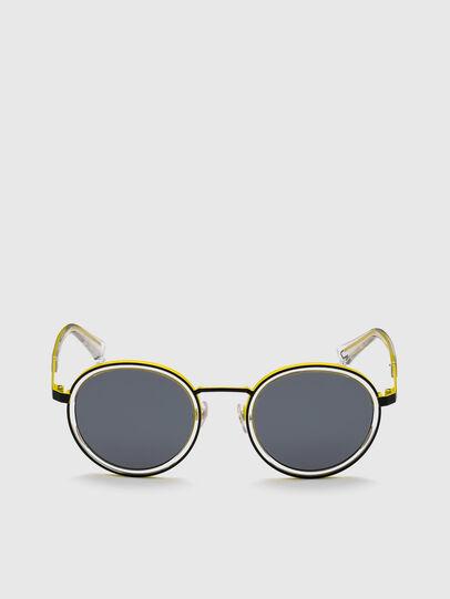 Diesel - DL0321, Black/Yellow - Sunglasses - Image 1