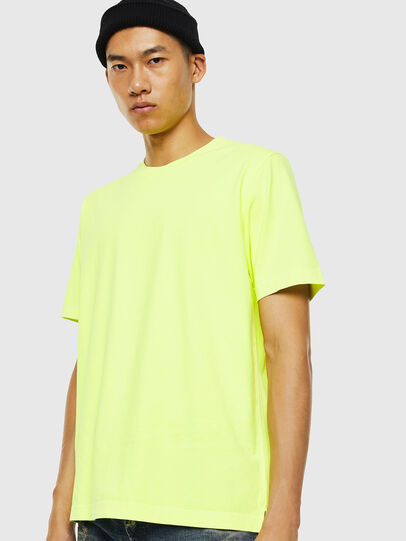 Diesel - T-JUST-SLITS-FLUO,  - T-Shirts - Image 1