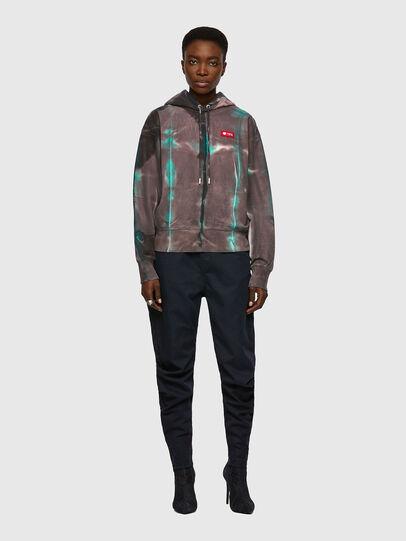 Diesel - F-LYM-HOOD, Dark Violet - Sweaters - Image 4