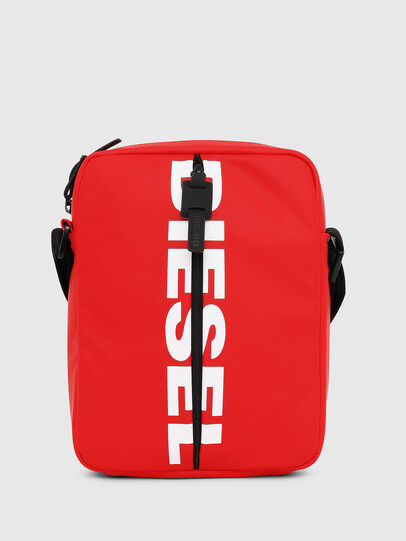 Diesel - F-BOLD SMALL CROSS, Red - Crossbody Bags - Image 1