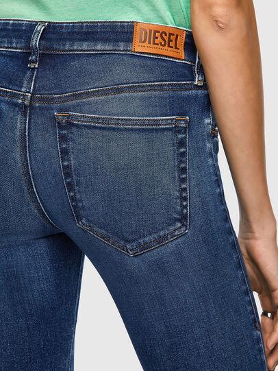 Diesel - Slandy Low 009ZX, Dark Blue - Jeans - Image 4