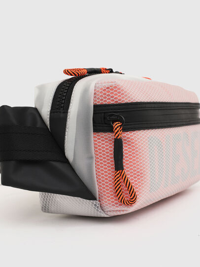 Diesel - FAROH, White/Orange - Crossbody Bags - Image 4