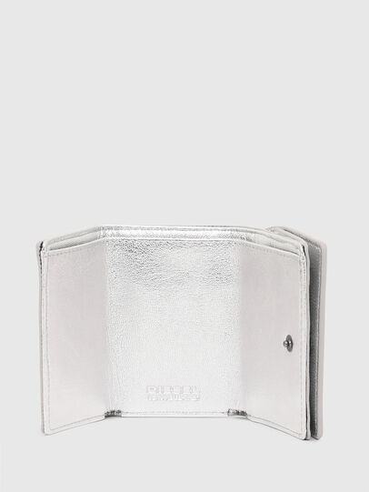 Diesel - LORETTINA, Silver - Small Wallets - Image 8
