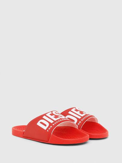 Diesel - FF 01 SLIPPER CH, Red - Footwear - Image 2