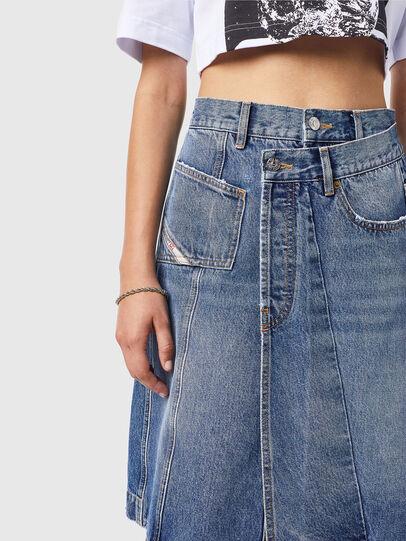 Diesel - DE-TOBY-SP, Medium blue - Skirts - Image 3