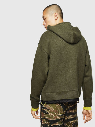 Diesel - K-NAVY, Military Green - Knitwear - Image 2