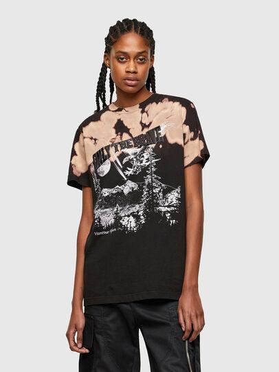 Diesel - T-DARIA-R4, Black - T-Shirts - Image 1