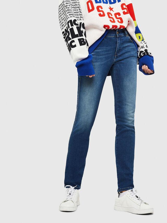Diesel - Sandy 086AL, Dark Blue - Jeans - Image 1