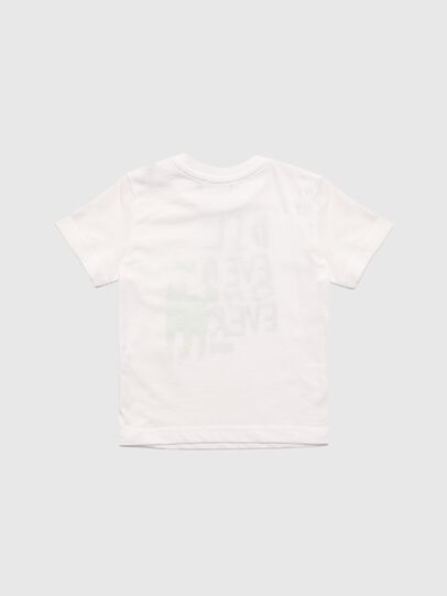 Diesel - TORTUB, White - T-shirts and Tops - Image 2