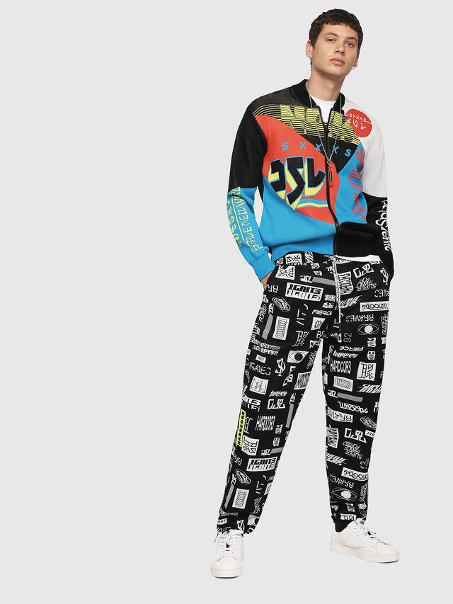 Diesel - K-RACIN, Multicolor - Knitwear - Image 4