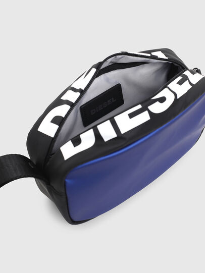 Diesel - BOLD POUCH, Blue/Black - Bags - Image 4