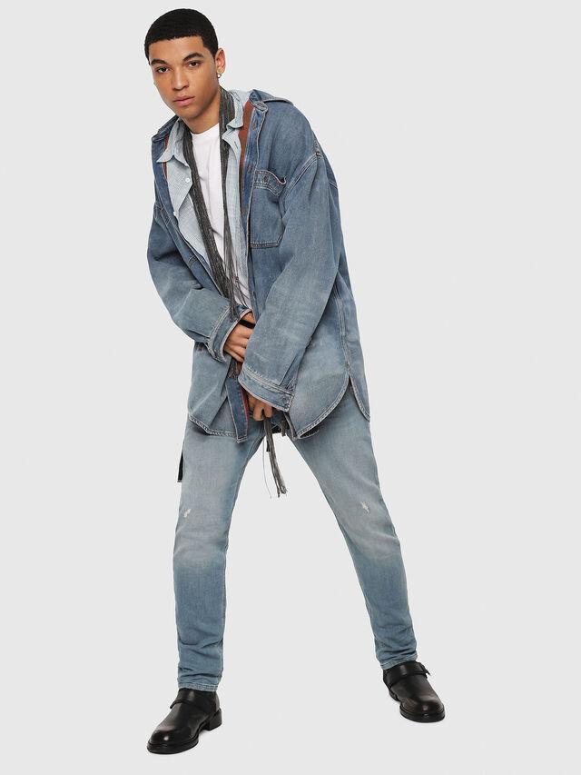 Diesel - Krooley JoggJeans 086AY, Light Blue - Jeans - Image 5