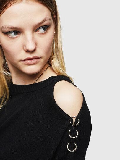 Diesel - M-MERS, Black - Knitwear - Image 3