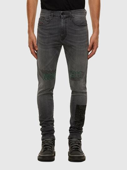 Diesel - D-Amny 009GL, Black/Dark grey - Jeans - Image 1