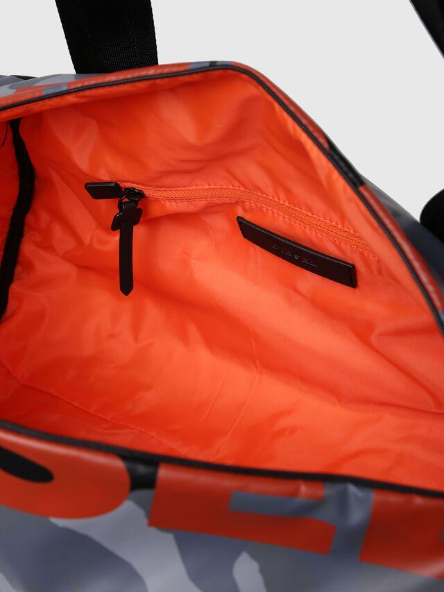 Diesel - F-BOLD DUFFLE, Grey Melange - Travel Bags - Image 5