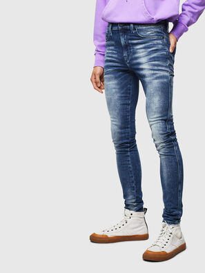 D-Reeft JoggJeans 0096M, Dark Blue - Jeans