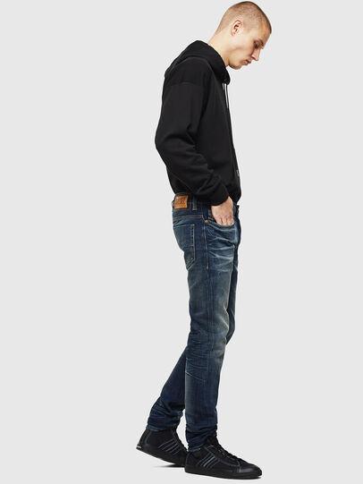 Diesel - Safado 0096U, Dark Blue - Jeans - Image 4
