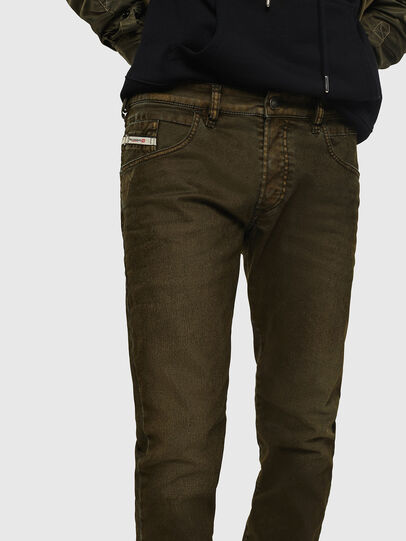 Diesel - D-Bazer 0091T, Military Green - Jeans - Image 5