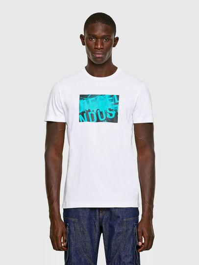 Diesel - T-DIEGOS-K16, White - T-Shirts - Image 1